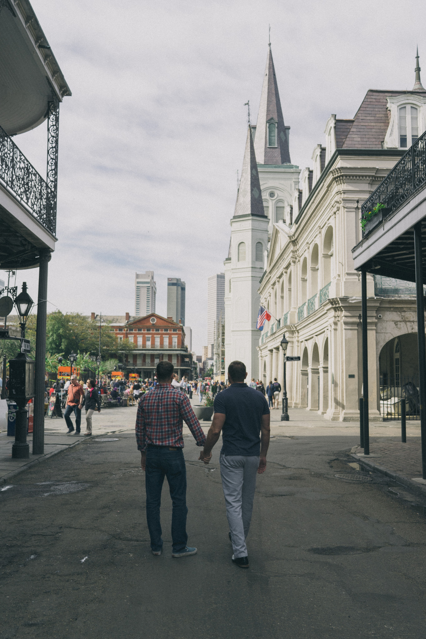 The best thing about the Quarter is learning all it's stories. One of which is how the gay community rallied together to save many of the French Quarter's most cherished buildings. (Photo Credit: Paul Broussard)