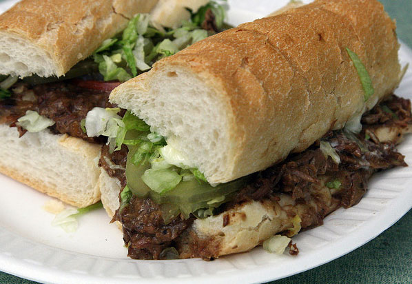 New ORleans restaurant and bar, Parasol's, serves up famous roast beef po-boys