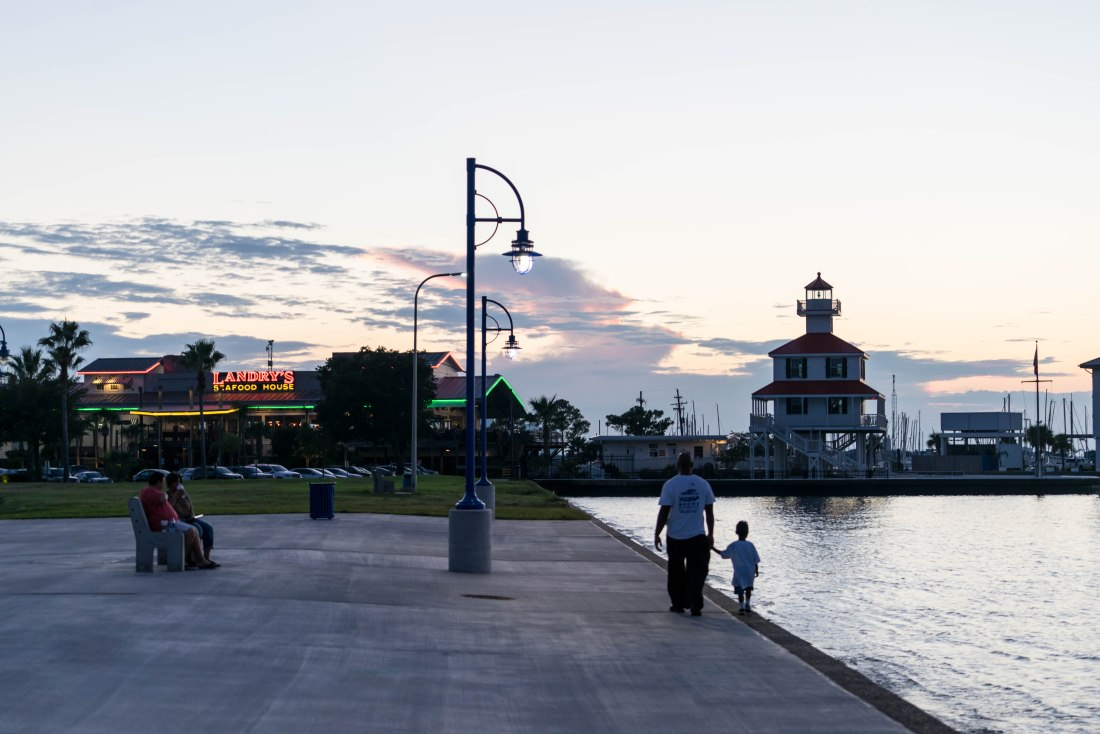 West End at Lake Ponchartrain is one of the most picturesque spots in New Orleans. Nearby restaurants Brisbi's and The Blue Crab offer prime marina and lake views while dining.