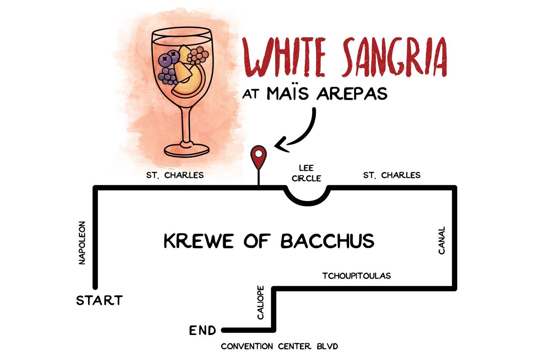 Parades and Cocktails: White Sangria