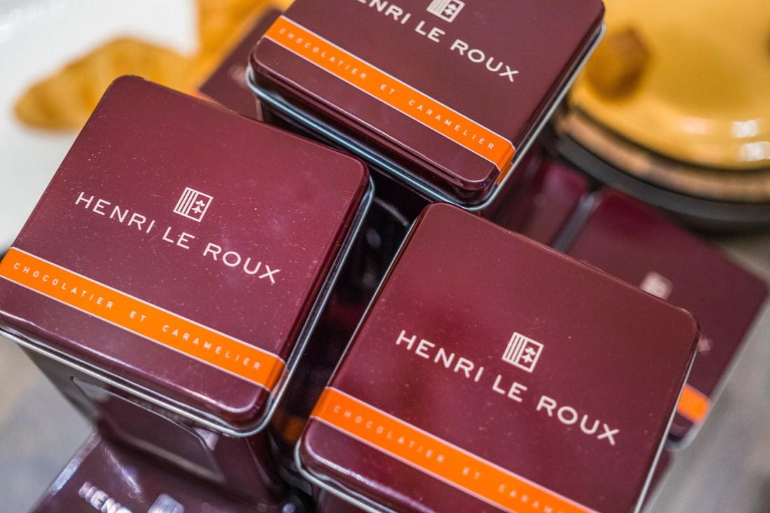 Henri Le Roux candies (photo: Scott Simon)