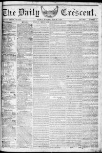 The Daily Crescent. March 05, 1848