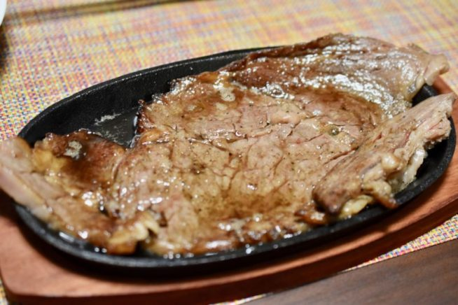 マルエイのステーキ