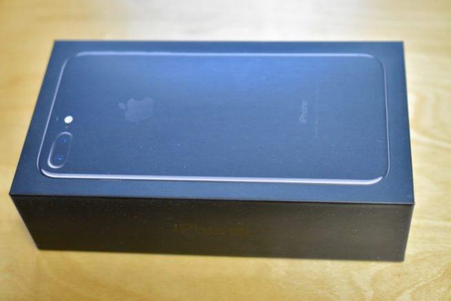 iPhone7の箱