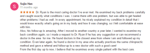 dr ryan suh, most caring doctor
