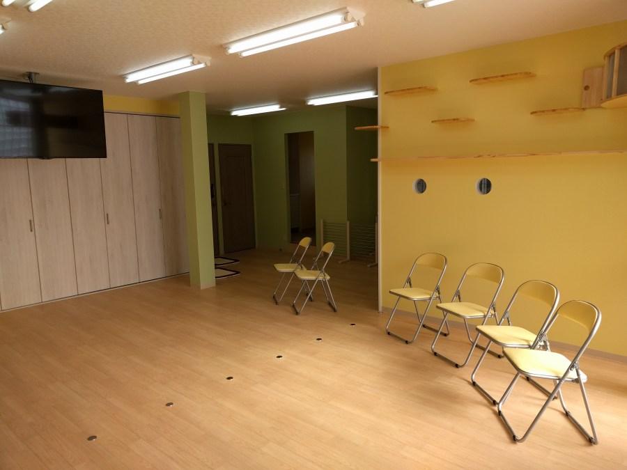 完成間近! 3階トレーニングルーム  キャットルーム