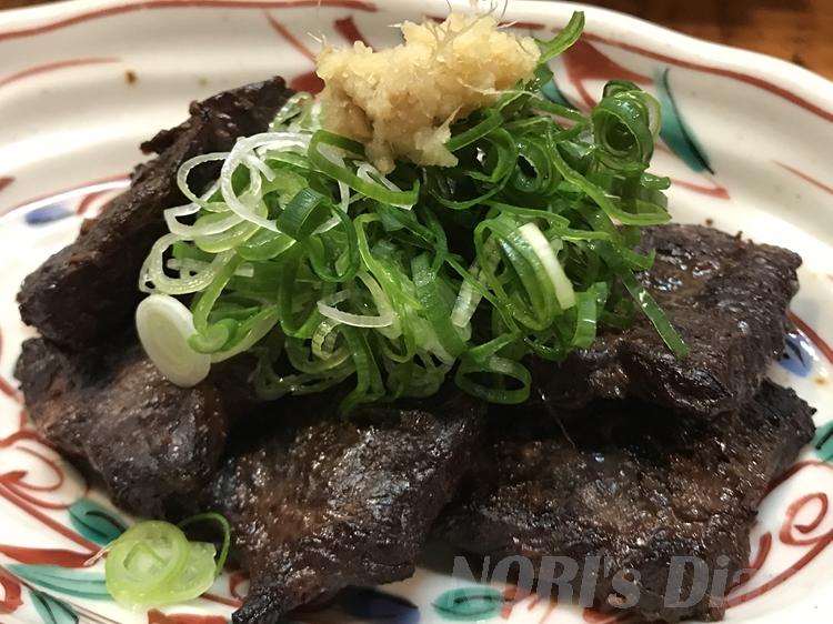 クジラ生姜焼き