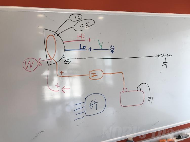 フェアレディーヘッドライト回路考案
