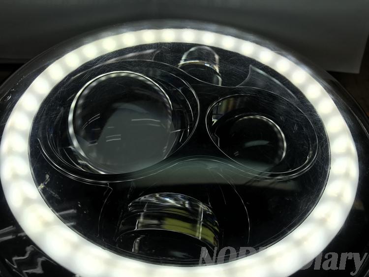 LEDリングヘッドライト
