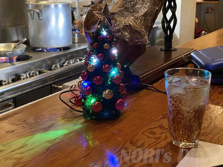 自作LEDクリスマスツリー