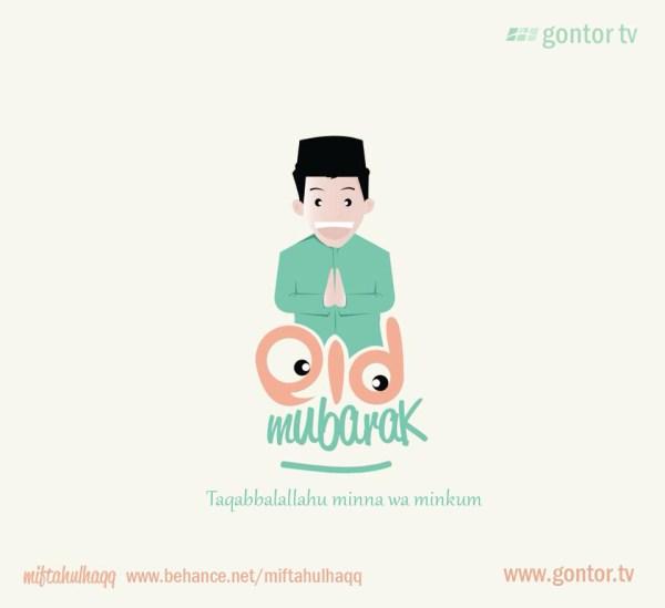 eid mubarak gontor tv greeting card ok