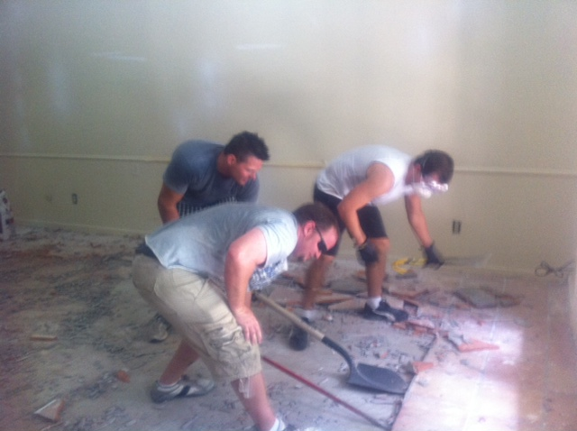 how to remove saltillo tile gonyea home