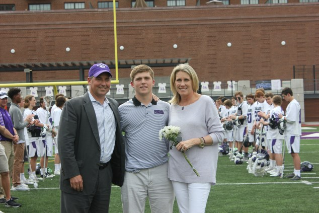 Luke McCaleb - Lacrosse Senior Day