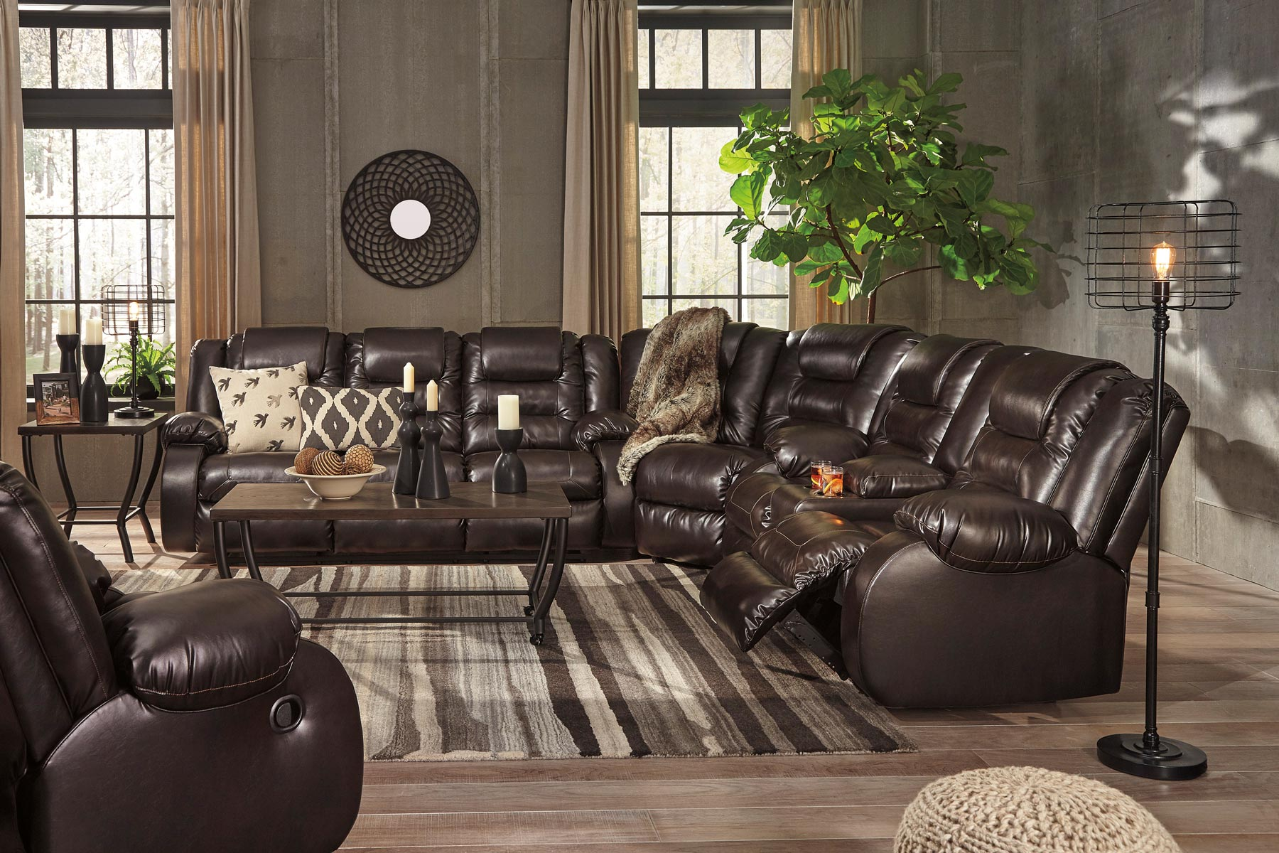 living room sets sectionals images of rooms with interior designs vacherie sectional set gonzalez furniture