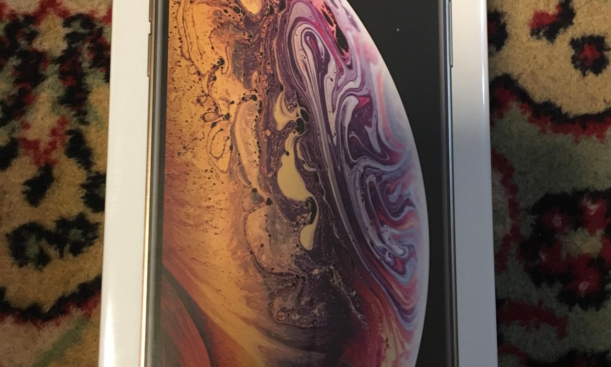 iPhone XS 化粧箱