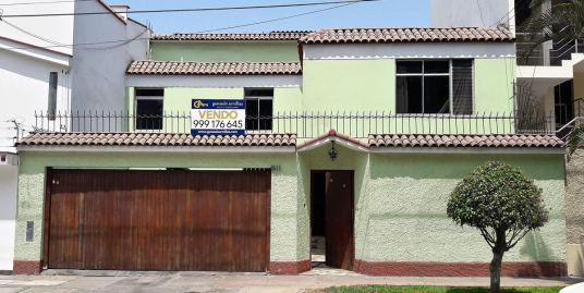 Vendo casa familiar en Vista Alegre, Surco