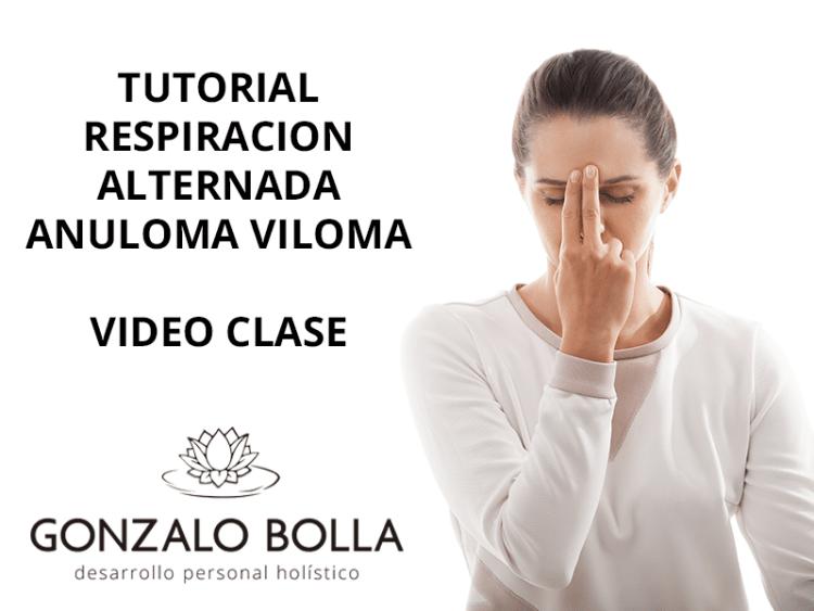 tutorial respiración alternada anuloma viloma - nadi sodhana