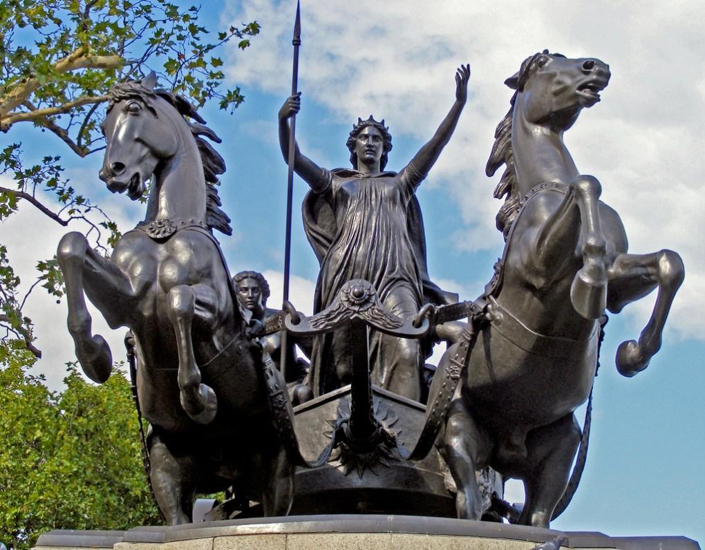 Boadicea, los icenos extendieron su revuelta como la pólvora, arrastrando en su rebelión a otras tribus