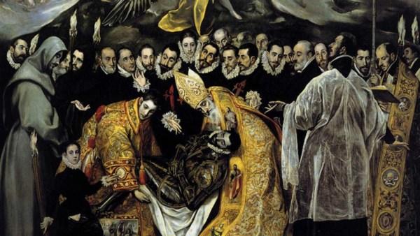 el caballero español, el entierro del conde de orgazaz