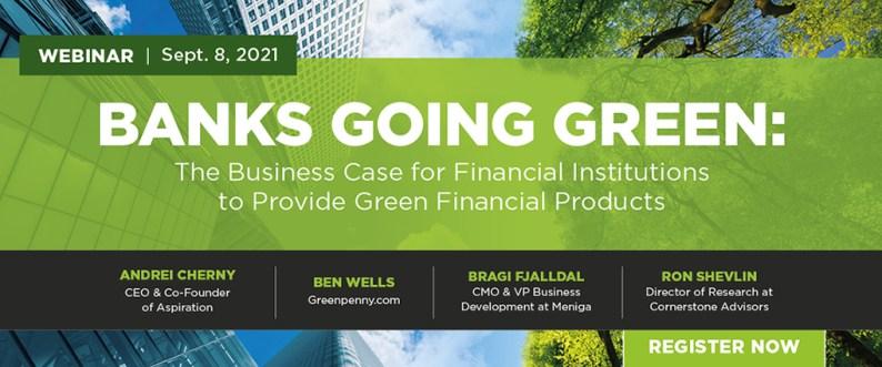 Banks Going Green Webinar
