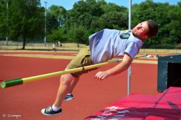 High Jump - wounded