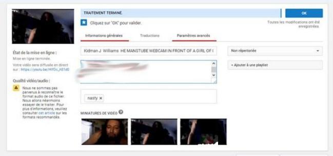 The YouTube Screenshot
