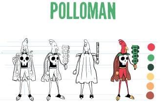 Polloman Character sheet