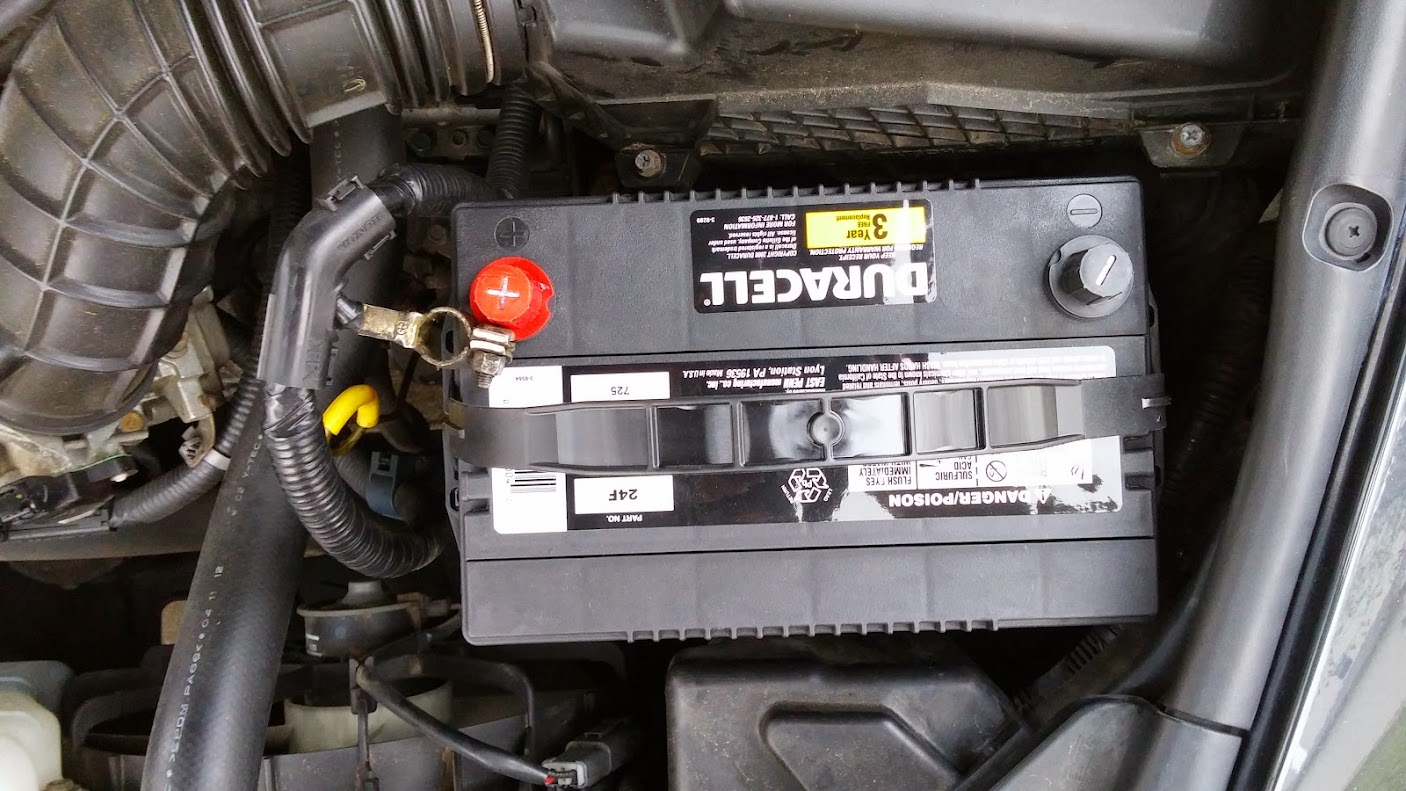 hight resolution of 2003 2007 honda accord battery replacement youtube