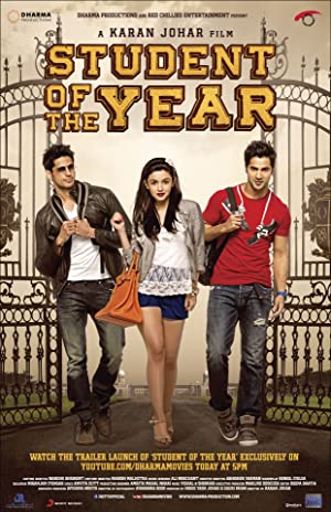 STUDENT OF THE YEAR – FILM – 2012