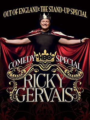RICKY GERVAIS: OUT OF ENGLAND – THE STAND-UP SPECIAL – FILM – 2008