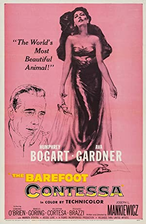 THE BAREFOOT CONTESSA – MOVIE – 1954