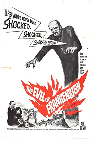 THE EVIL OF FRANKENSTEIN – MOVIE – 1964
