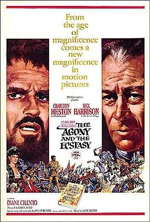 A AGONIA E O êXTASE – FILME – 1965