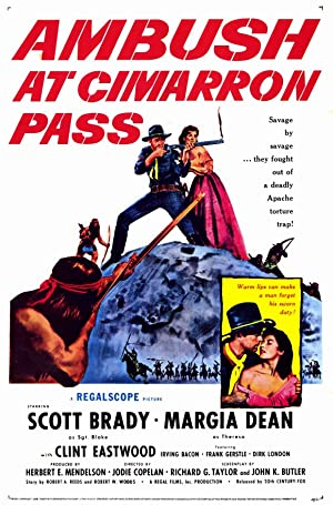 AMBUSH AT CIMARRON PASS – MOVIE – 1958
