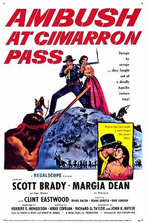 EMBOSCADA EM CIMARRON PASS – FILME – 1958