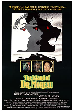 THE ISLAND OF DR. MOREAU – MOVIE – 1977