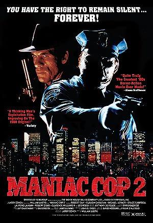MANIAC COP 2 – O VINGADOR – FILME – 1990