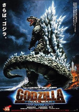 GODZILA – BATALHA FINAL – FILME – 2004
