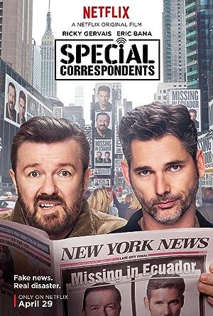 SPECIAL CORRESPONDENTS – FILM – 2016