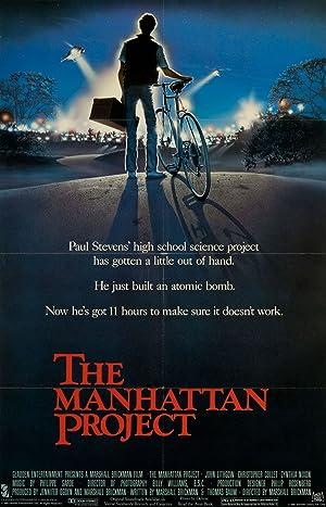 THE MANHATTAN PROJECT – MOVIE – 1986