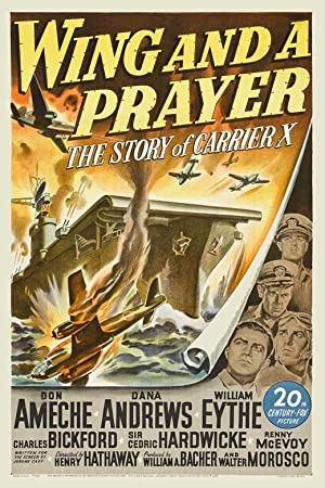 WING AND A PRAYER – MOVIE – 1944