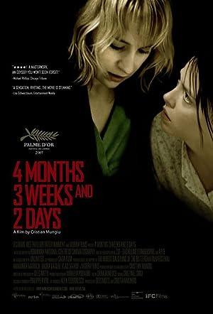 4 MESES, 3 SEMANAS E 2 DIAS – FILME – 2007