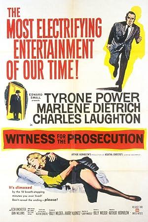 Μάρτυς κατηγορίας – ταινία – 1957