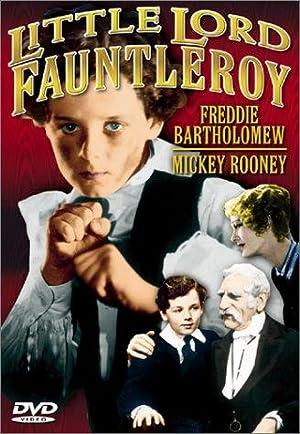 LORD FAUNTLEROY – FILM – 1936