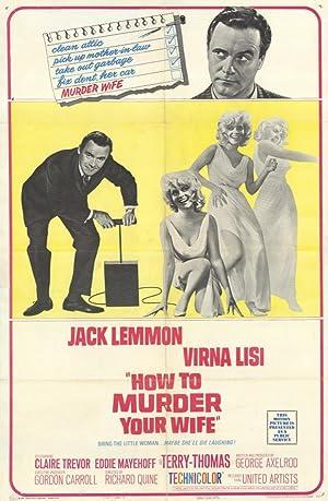 COMO MATAR SUA ESPOSA – FILME – 1965