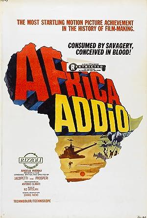 AFRICA ADDIO – PEL·LÍCULA – 1966