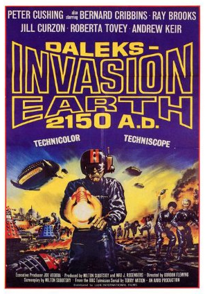 DALEKS' INVASION EARTH 2150 A.D. – MOVIE – 1966