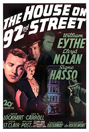 THE HOUSE ON 92ND STREET – MOVIE – 1945