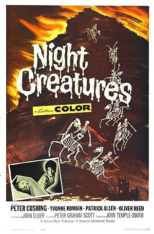 NIGHT CREATURES – MOVIE – 1962