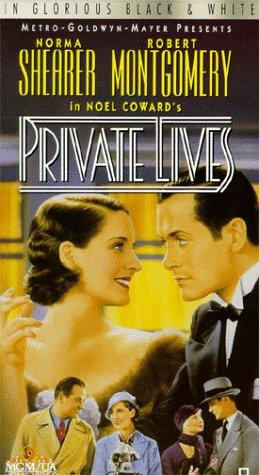 PRIVATE LIVES – MOVIE – 1931